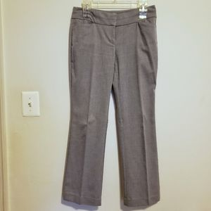 LOFT Light Gray Dress Pants (Size 2P)